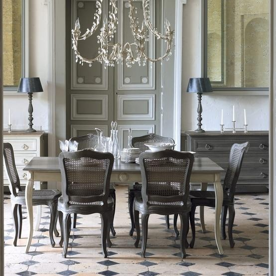Friday happy hour gray stained dining table carla moss interiors - Wonderful antique dining room ideas elegant supper time ...