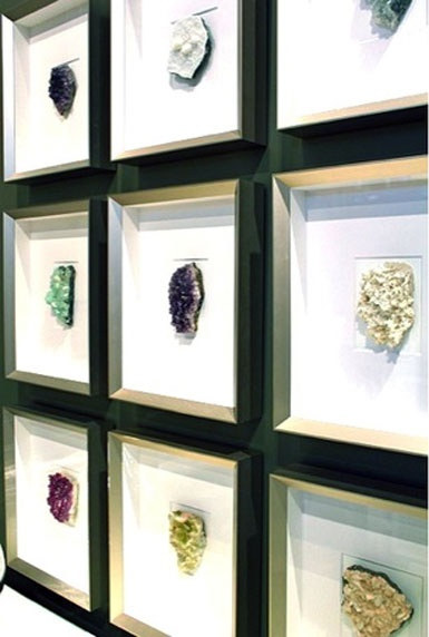 Friday Happy Hour Framed Minerals Carla Moss Interiors