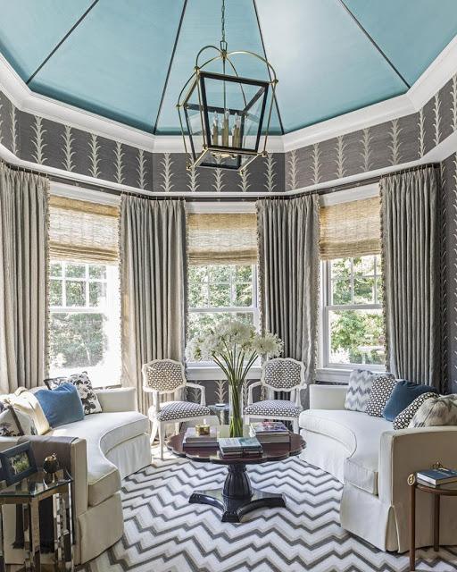 {1 U0026 3} A Hampton Showhouse Bedroom By Kemble Interiors {3} Schumacher  Showroom {4} Schmacuheru0027s Fireplace Vignette
