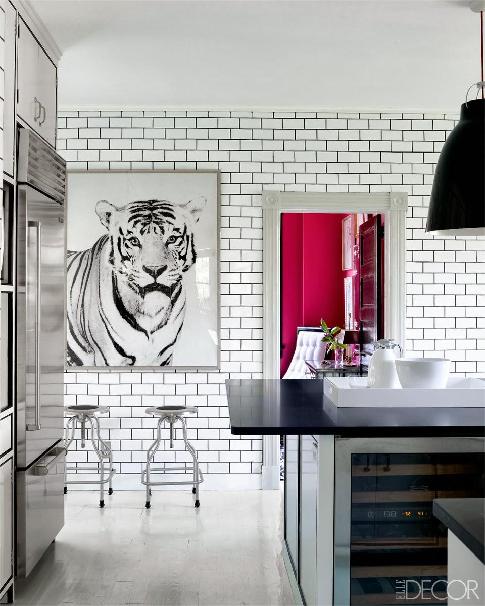 Cococozy white kitchen subway tiles dark black grout subzero related dailygadgetfo Gallery