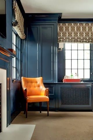 Paint Ponder Hague Blue Carla Moss Interiors