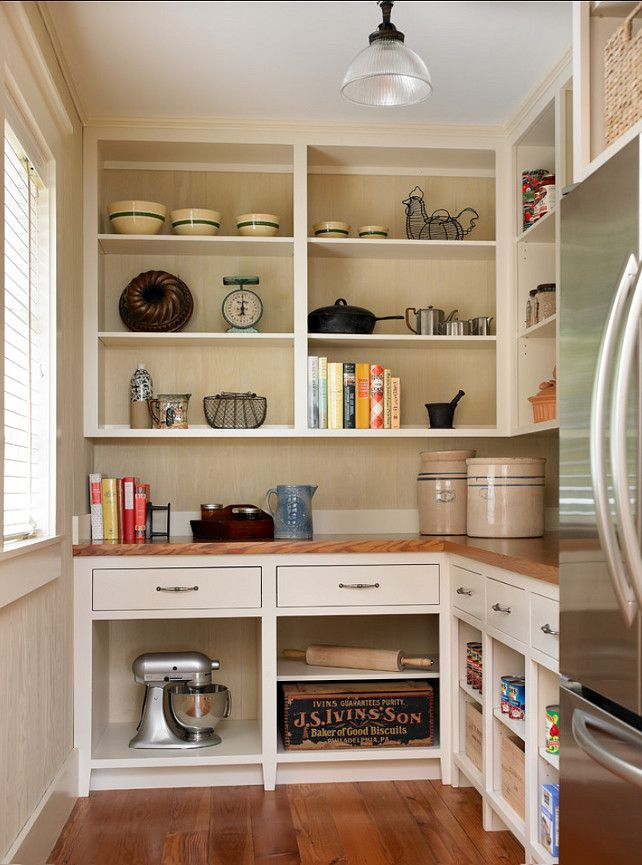 15 Handy Kitchen Pantry Designs With A Lot Of Storage Room: Paint Ponder: Lily Of The Valley