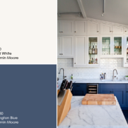 deep-blue-and-white-cabinets-benjamin-moore-painters-place