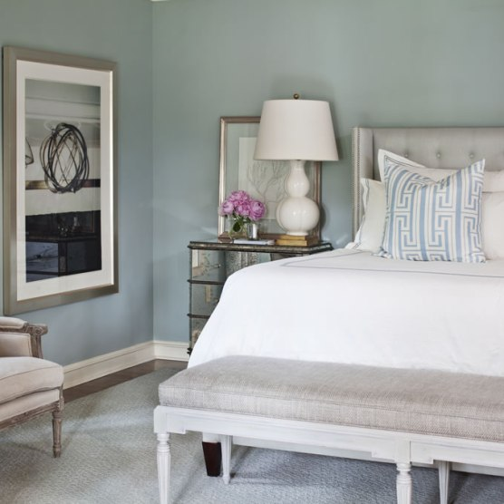 Silver mist carla moss interiors Paint colors for calming effect