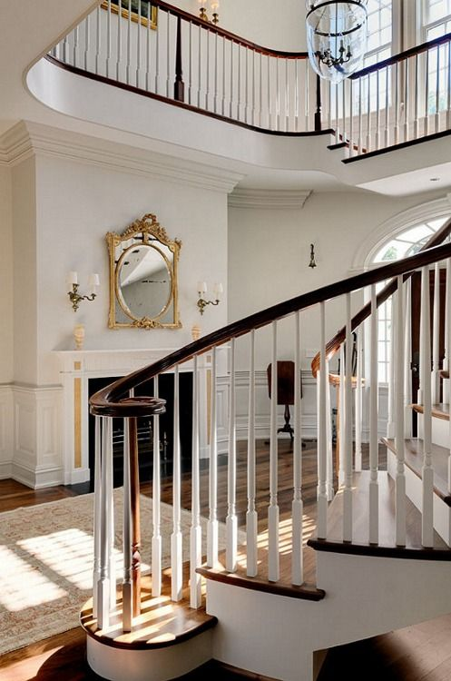 Traditional Foyer Jobs : Fireplace carla moss interiors