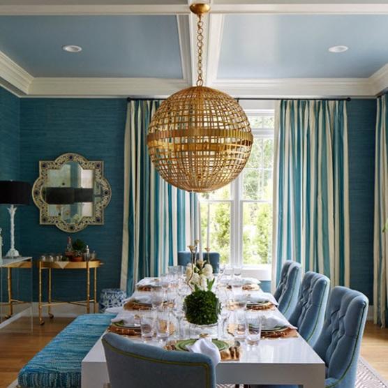 Hampton show house carla moss interiors for Teich design nyc